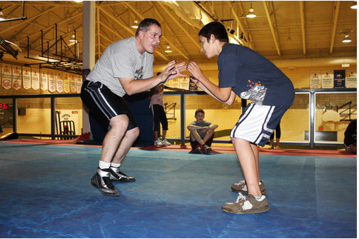 Wrestling provides entry to martial arts