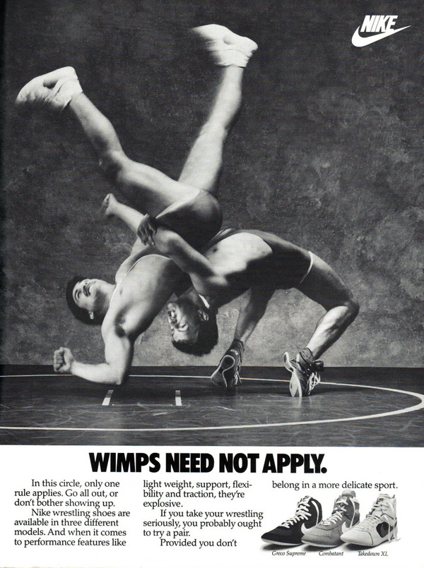Wimps Need Not Apply