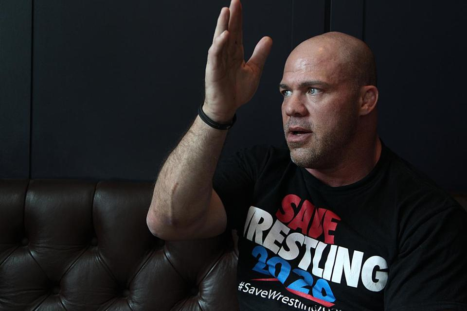 Kurt Angle - Save Wrestling