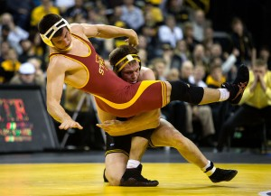 IOWA WRESTLING VS IOWA STATE