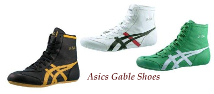 Dan Gable Wrestling Shoes