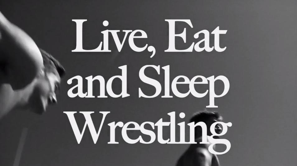 live eat and sleep wrestling abercrombie fitch. Black Bedroom Furniture Sets. Home Design Ideas