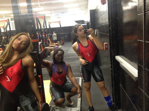 Chicks In Weightlifting Singlets Singlets Girlswholift