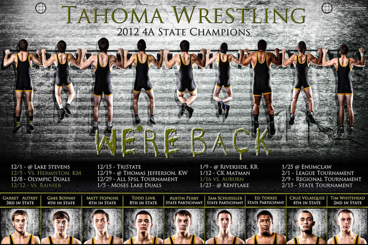 Wrestling team photo ideas for Team picture ideas